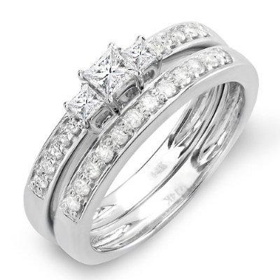 0.65 Ct Princess Diamond - 5