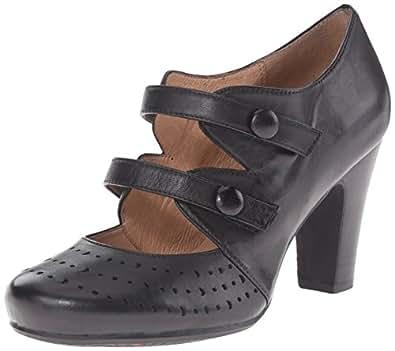 Miz Mooz Women's Judy Dress Pump, Black, 6 M US