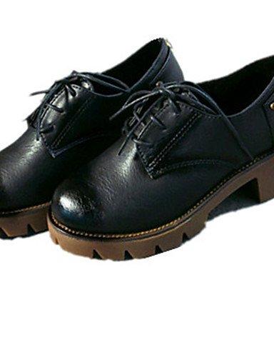 5 Casual Gris pu Uk6 Vestido Gray oxfords 5 negro us8 plataforma 5 Marrón exterior Oficina Y De Mujer 7 Uk4 Trabajo us6 Zapatos Njx Eu39 Cn40 5 Eu37 Black Cn37 5 plataforma qPZUUw