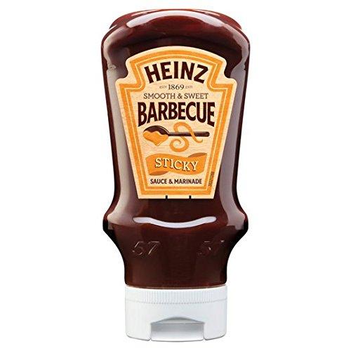 Heinz pegajosa salsa de barbacoa de 500g: Amazon.es: Alimentación y bebidas