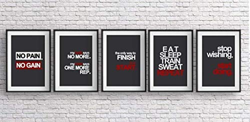 Fitness Motivation Poster Pack -