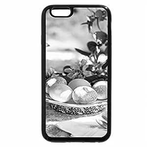 iPhone 6S Plus Case, iPhone 6 Plus Case (Black & White) - Morning Easter