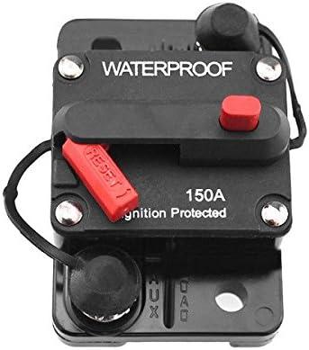 C-FUNN Manual del Soporte De La Caja del Fusible del Coche con El Interruptor Cut Off Circuit Protect: Amazon.es: Coche y moto
