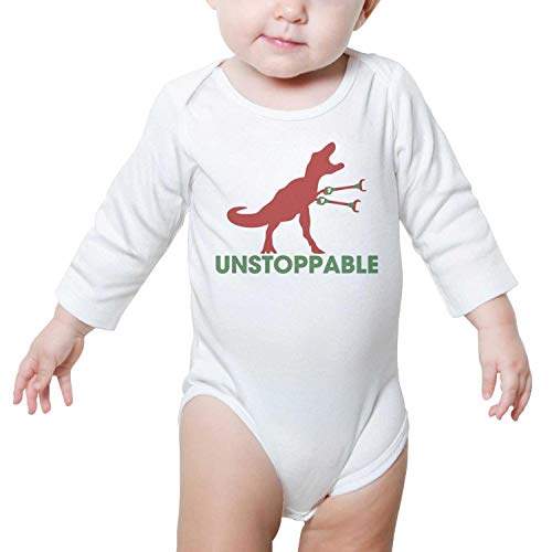 Unstoppable T-REX Baby Girls Fashion Baby Bodysuit Onesies ()