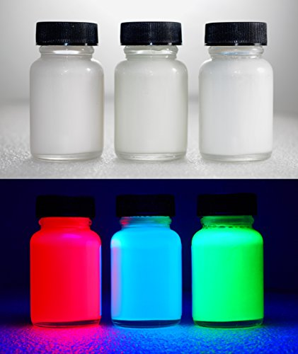 Transparent UV Reactive Water Based Blacklight Paint - (Uv Reactive Spray Paint)