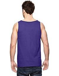 Men's 39TK 100% Heavy Cotton HD Tank Top, Purple