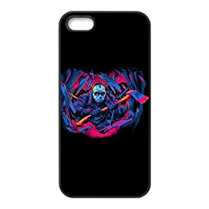 iPhone 5,5S Phone Case Black FRIDAY THE 13TH FORCEFUL ENTRY ZKH9367375