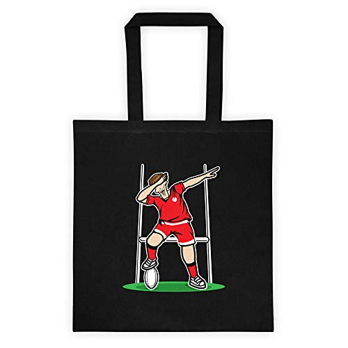 Dabbing Georgia Rugby Player | 2019 Fans Kit for Georgian Supporters, Tote bag