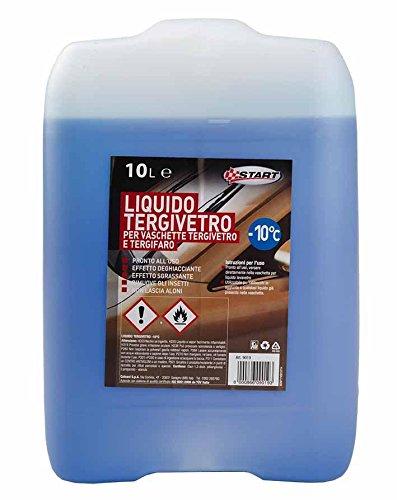 Liquido Tergivetro -10? 10Lt Manutenzione Ed Emergenza Automobile
