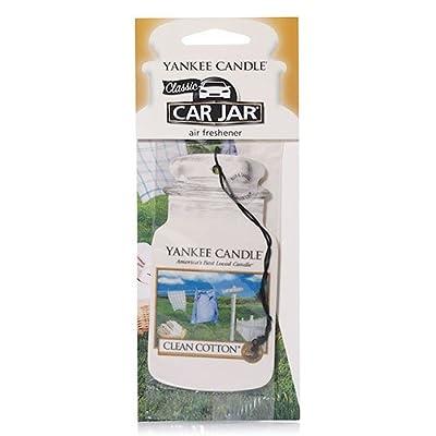 Yankee Candle Company 1020639 Clean Cotton Car Freshener: Home & Kitchen [5Bkhe1514480]