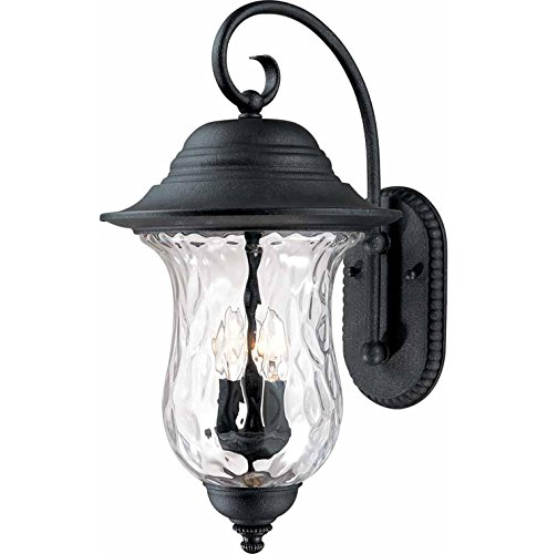 Volume Lighting V8710-36 Outdoor Decorative, Antique Iron Finish