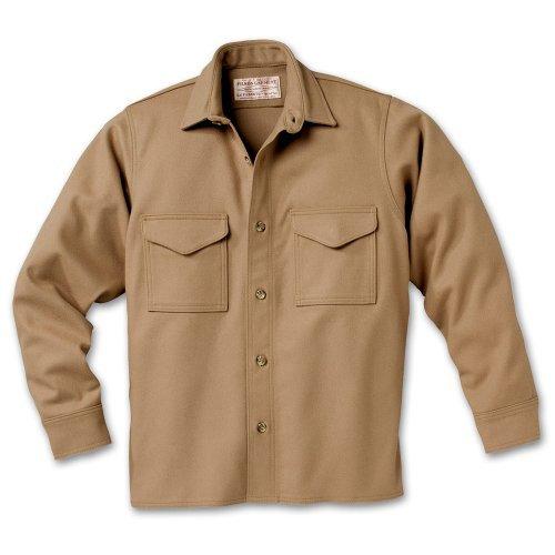 Filson 10234 Wool Jac Shirt - Extra Long (42, Camel)