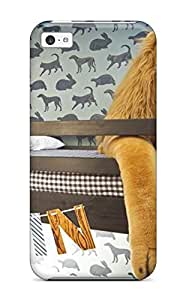 Fashionable MCbvjbE1962iCCsy Iphone 5c Case Cover For Stuffed Lion And Animal In Boy Room Protective Case