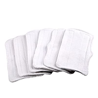 6 Replacement Microfiber Pads For Shark Steam Mop S3250 S3101 S3251
