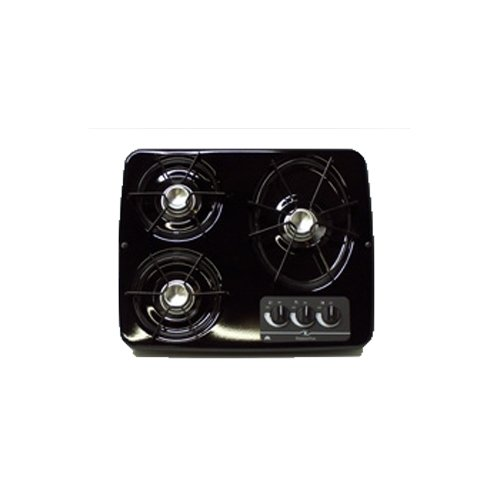 Atwood Dv30-b Black 3 Burner Drop-in Cook Top