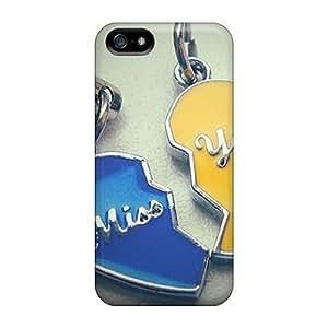 For Iphone 5/5s Fashion Design Miss U Case