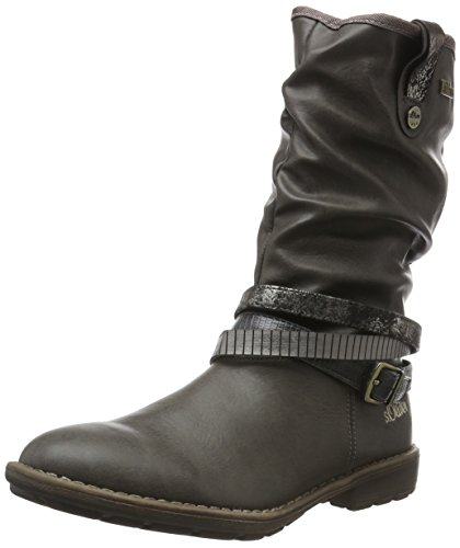 s.Oliver Girls' 55606 Long Boots Brown (Pepper 324) 49rrXn