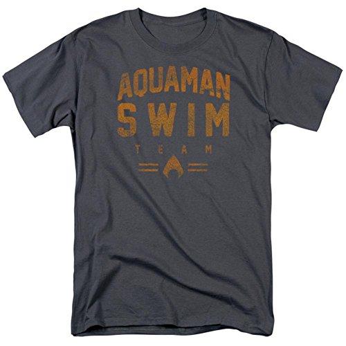 Aquaman- Swim Team T-Shirt Size M by Trevco