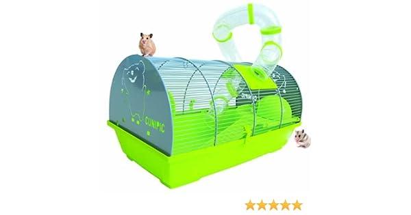 Set jaula hamster incluye lecho de papel 4L, tubos de hamster, y ...