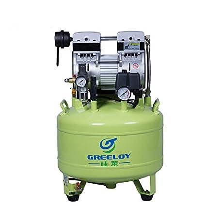 First Dental 800W Compresor de aire Accesorios Super Silent Piston Type Oil Free 40L Mini Unidad