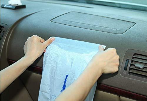 LLSW shop Car Garbage Bag Disposable Auto Trash Bag for Litter Large Capacity Leak-Proof Portable Convenient 30Pcs