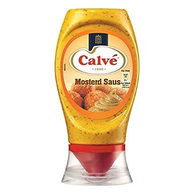Calve salsa de mostaza Squeeze Bottle 250 ml (200 gramos)