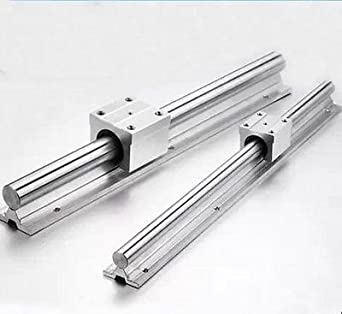 1 set SBR12 12mm 300mm Fully Supported Linear Rail with SBR12UU Block Bearing