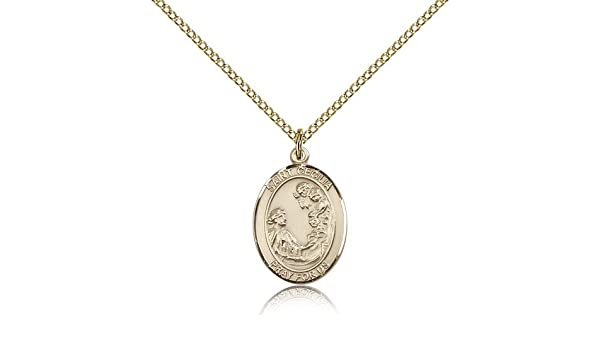 Amazon saint cecilia pendants gold plated st cecilia pendant amazon saint cecilia pendants gold plated st cecilia pendant including 18 inch necklace jewelry mozeypictures Choice Image