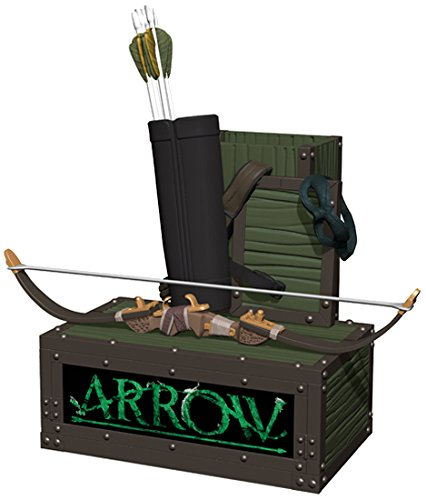 Icon Heroes DC Green Arrow TV Pen and Paper Clip Holder Novelty, Green