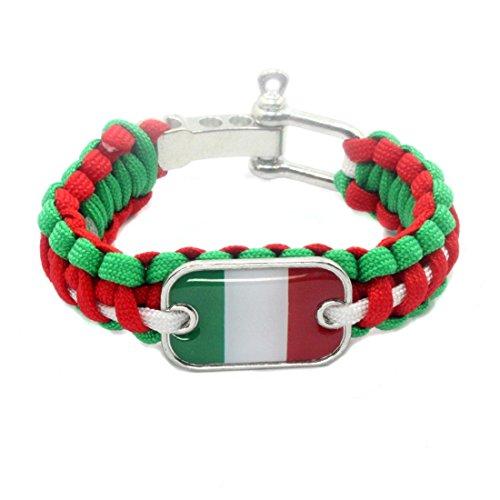 Friendship 36 Bracelets (2018 World Cup National Flag Braided Wristband Bracelet Bangle For Women Men Couples Football Soccer Fans)