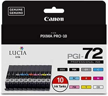 Amazon.com: Canon PGI-72 pack de 10 depósitos de ...