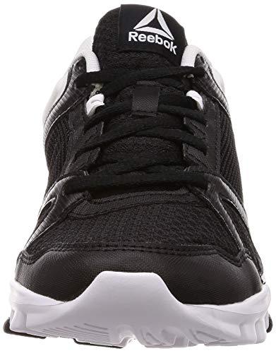 Yourflex Trainette Reebok white 10 Zapatillas Deporte De Black black Mt Para Mujer white Negro dR5q5