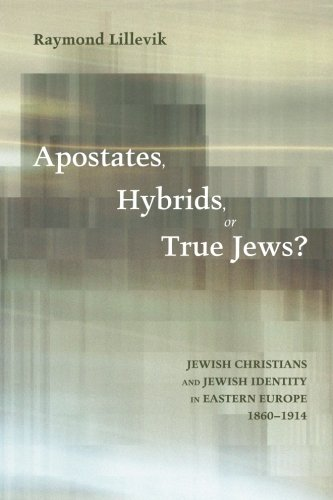 Apostates, Hybrids, or True Jews?: Jewish Christians and Jewish Identity in Eastern Europe, 1860-1914 - Map Europe 1860