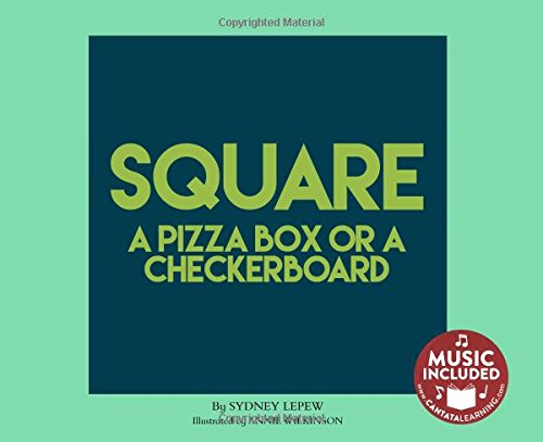 Squares Checkers Board (Square: A Pizza Box or a Checkerboard (Shapes All Around Us))