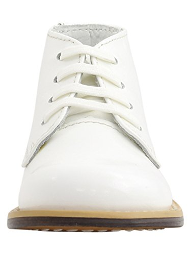 Image of Josmo 8190PO Baby Walker Leather Dress Boots, White Pat Ostrich - 4.5