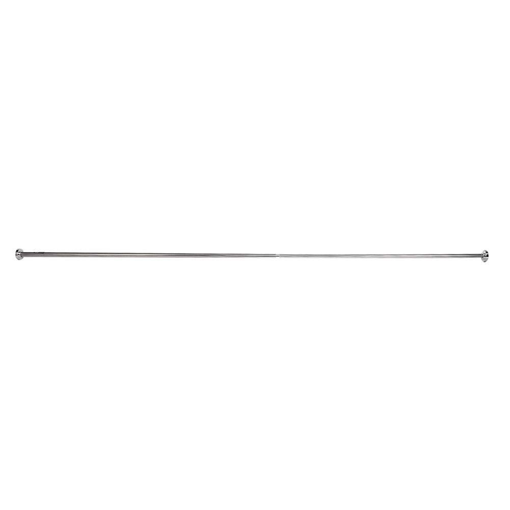 GOTOTOP 125-220cm Durable Telescopic Shower Bathroom Curtain Wardrobe Rail Extendable Pole Rod load-bearing 15kg Max