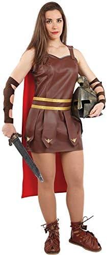 DISBACANAL Disfraz de Romana gladiadora Mujer - -, L: Amazon.es ...
