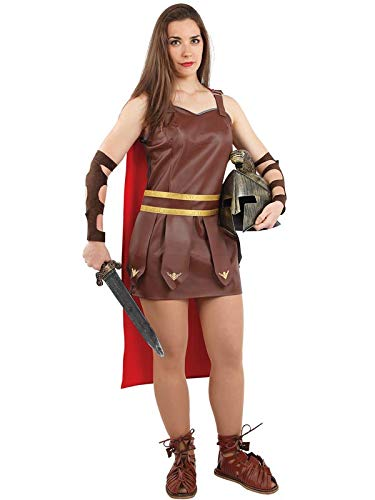 DISBACANAL Disfraz de Romana gladiadora Mujer - Único, M ...