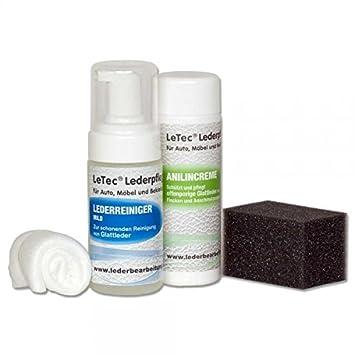 LeTec® Cuidado Piel Natural (para anilina piel) de piel con ...