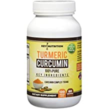Turmeric Curcumin 1500mg with Black Pepper Extract & Nettle Leaf- 2 Month Supply-Maximum Pain Releif, 120 Capsules, High Absorption Formula with 95% Curcumunoids - Antioxidant,  Anti inflammatory