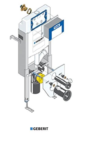 mit Sigma UP-Spülkasten Bauhöhe 1080 m GEBERIT Wand-WC-Montageelement Kombifix