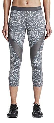 Pro Hypercool Tidal Multi Capri Pants - Womens - Dark Grey/Cool Grey/White