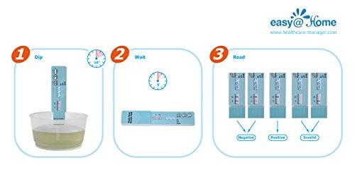 25 Pack Easyhome Marijuana thc Single Panel Drug Tests Kit  EDTH114