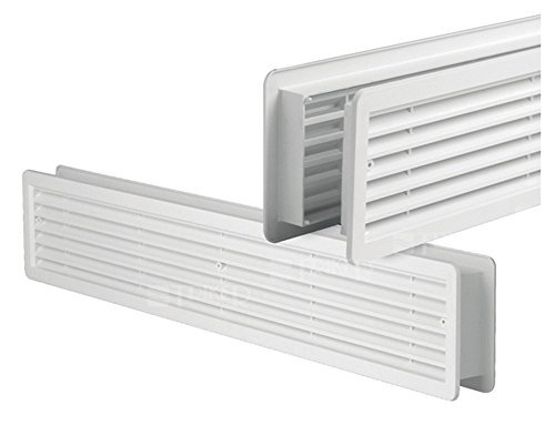 Door Air Vent Grille Double-Sided Door OpaqueWhite400x 130mmmade of hih-quality ASA plastic  sc 1 st  Amazon.com & Amazon.com: Door Air Vent Grille Double-Sided Door OpaqueWhite400x ...