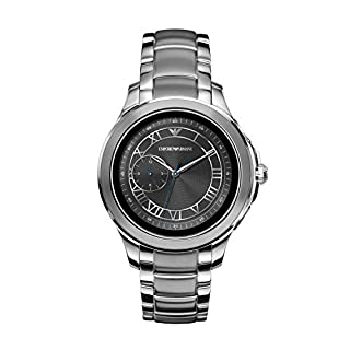 Men's silver colored watch