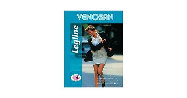 Amazon.com: VENOSAN Legline 20 – 30 mmHg Muslo de la mujer ...