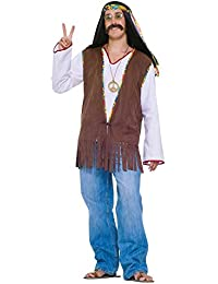 Men's Generation Hippie Costume Vest