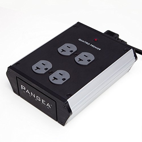 Pangea Audio Quattro - 4 Outlet Power Center (Premier) by Pangea Audio