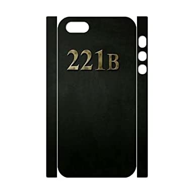 221B DIY 3D Cell Phone Case 677 For IPhone 4 4s LMc 34