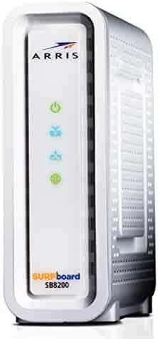 Next-Generation ARRIS SURFboard SB8200 DOCSIS 3.1 Cable Modem - Retail Packaging- White